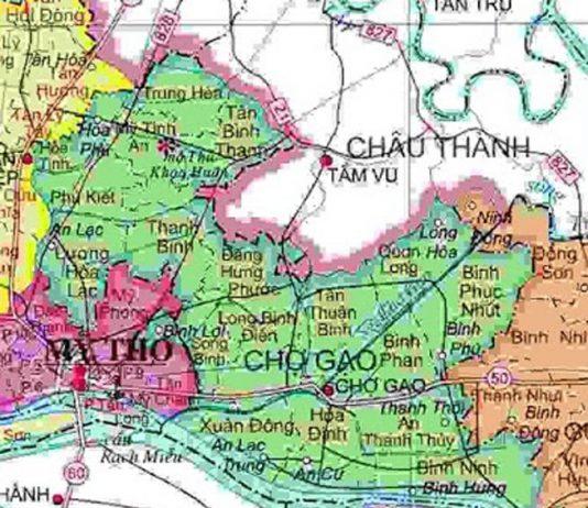 huyện Chợ Gạo - Tỉnh Tiền Giang