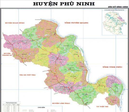 Giới thiệu khái quát huyện Phù Ninh