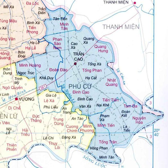 huyện Phù Cừ - Tỉnh Hưng Yên
