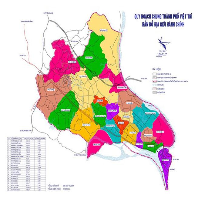 Giới thiệu khái quát thành phố Việt Trì