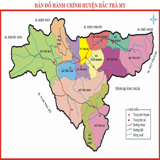 huyện Bắc Trà My - Tỉnh Quảng Nam