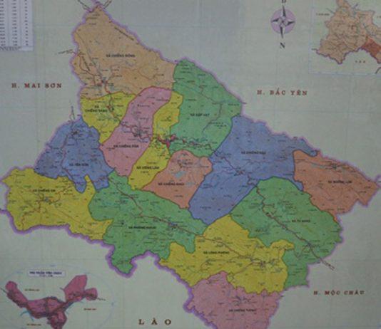 huyện Yên Châu - Tỉnh Sơn La