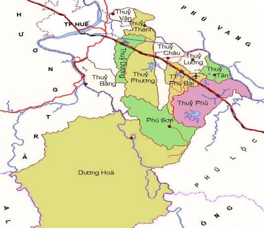 thị xã Hương Thủy - Tỉnh Thừa Thiên Huế