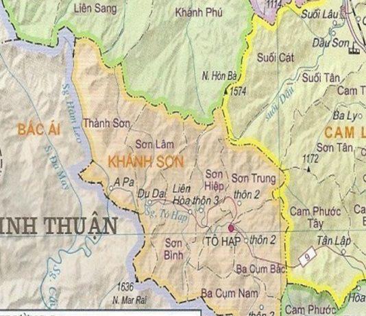 huyện Khánh Sơn - Tỉnh Khánh Hòa