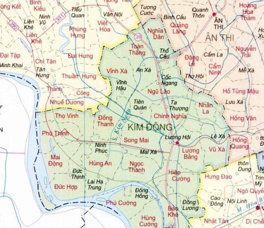 huyện Kim Động - Tỉnh Hưng Yên