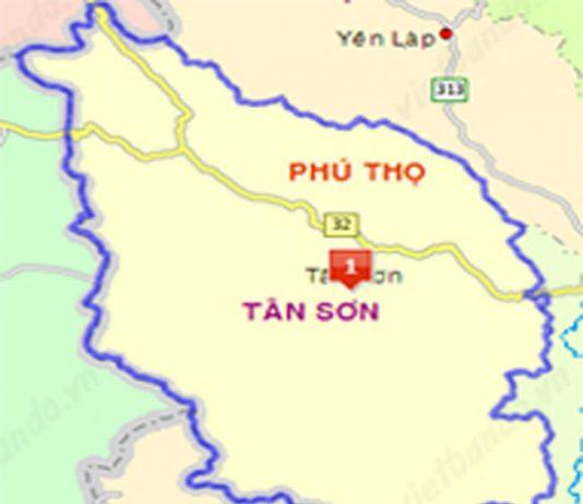 Giới thiệu khái quát huyện Tân Sơn