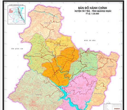 huyện Tây Trà - Tỉnh Quảng Ngãi