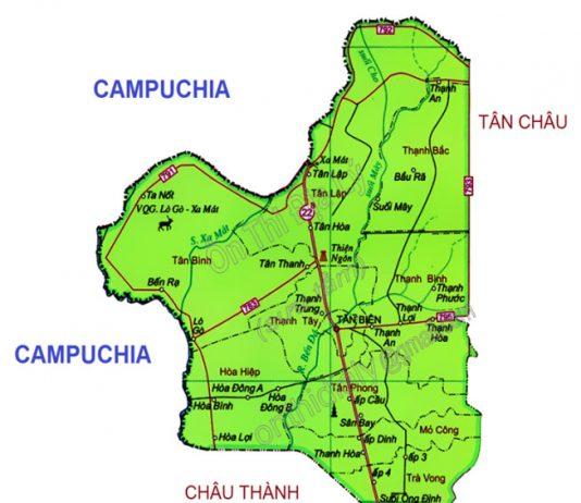 huyện Tân Biên - Tỉnh Tây Ninh