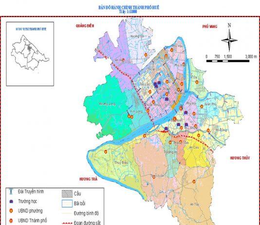 thành phố Huế - Tỉnh Thừa Thiên Huế