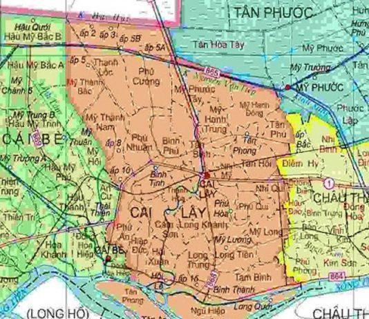 huyện Cai Lậy - Tỉnh Tiền Giang