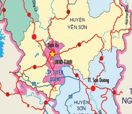 thành phố Tuyên Quang - Tỉnh Tuyên Quang
