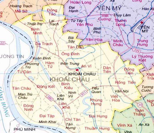huyện Khoái Châu - Tỉnh Hưng Yên