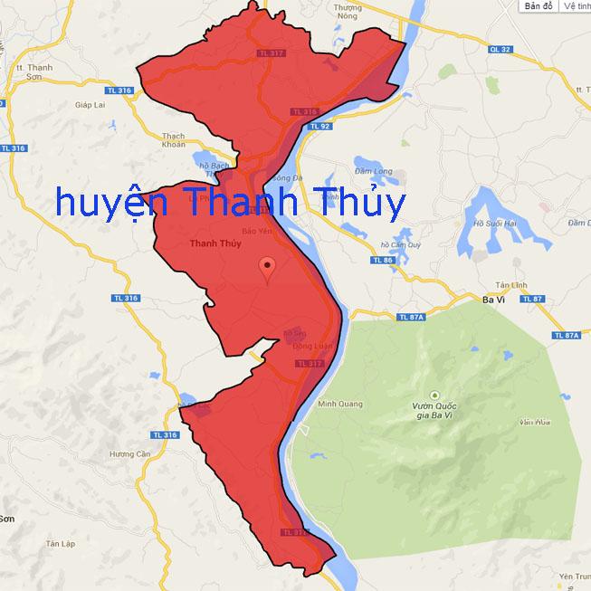 Giới thiệu khái quát huyện Thanh Thủy