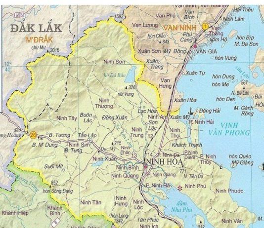 thị xã Ninh Hoà - Tỉnh Khánh Hòa
