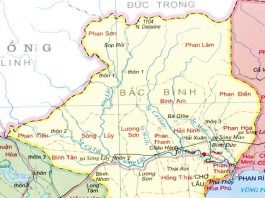 huyện Bắc Bình - Tỉnh Bình Thuận