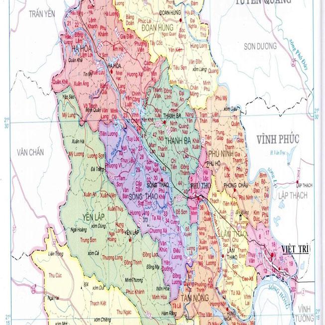 Giới thiệu khái quát huyện Thanh Sơn