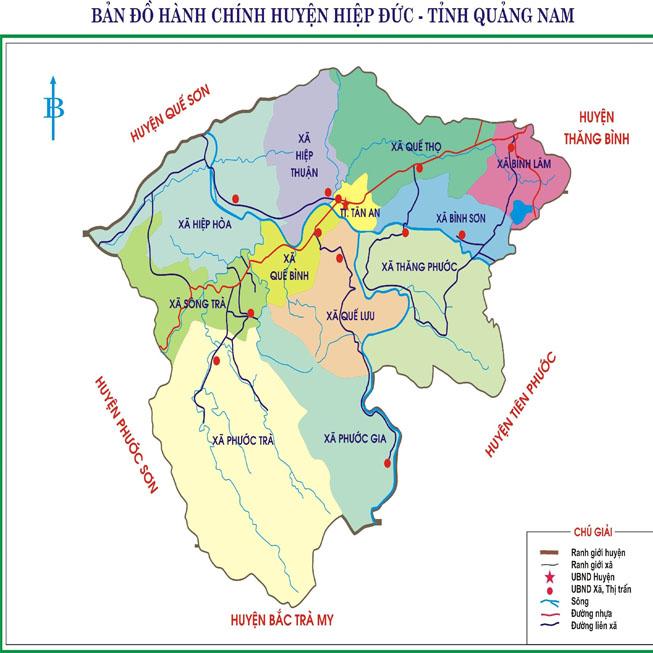 huyện Hiệp Đức - Tỉnh Quảng Nam