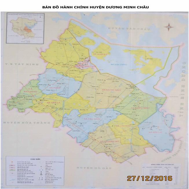 huyện Dương Minh Châu - Tỉnh Tây Ninh