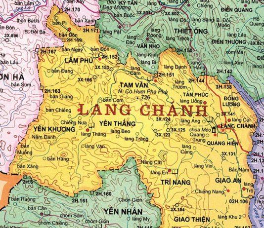huyện Lang Chánh - Tỉnh Thanh Hóa