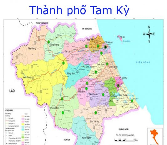 thành phố Tam Kỳ - Tỉnh Quảng Nam