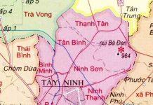 thành phố Tây Ninh - Tỉnh Tây Ninh