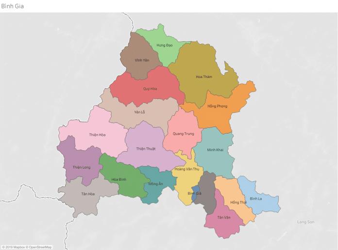Giới thiệu khái quát huyện Bình Gia