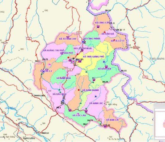Giới thiệu khái quát huyện Bắc Hà