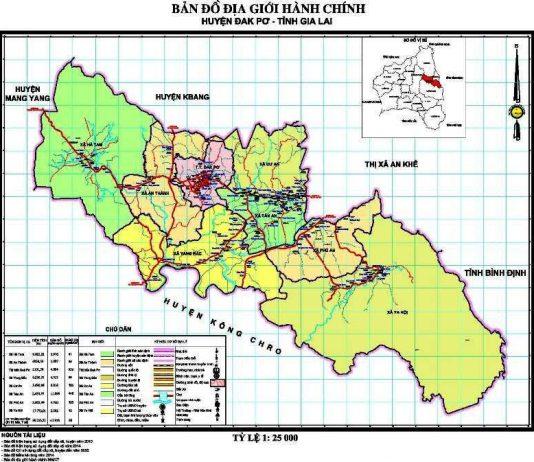 Giới thiệu khái quát huyện Đak Pơ