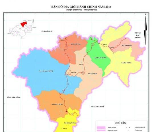 Giới thiệu khái quát huyện Đam Rông