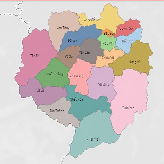 Giới thiệu khái quát huyện Bắc Sơn