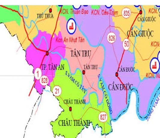 Giới thiệu khái quát huyện Tân Trụ