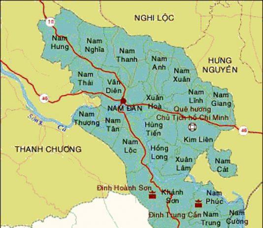 Giới thiệu khái quát huyện Nam Đàn