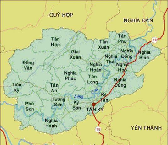 Giới thiệu khái quát huyện Tân Kỳ