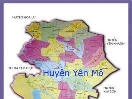 Giới thiệu khái quát huyện Yên Mô