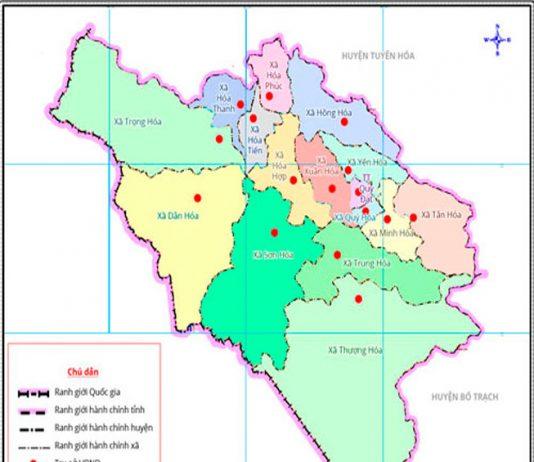 huyện Minh Hoá - Tỉnh Quảng Bình