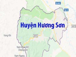 Giới thiệu khái quát huyện Hương Sơn