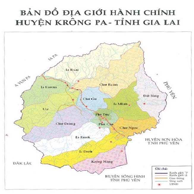 Giới thiệu khái quát huyện Krông Pa