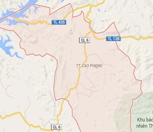 Giới thiệu khái quát huyện Cao Phong