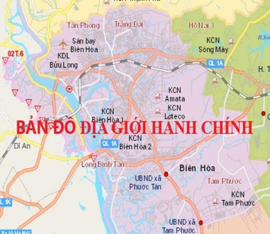 Giới thiệu khái quát thành phố Biên Hoà - Tỉnh Đồng Nai - vansudia.net