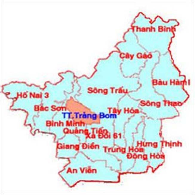 Giới thiệu khái quát huyện Trảng Bom