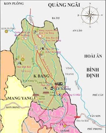 Giới thiệu khái quát huyện KBang