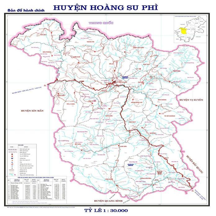 Giới thiệu khái quát huyện Hoàng Su Phì