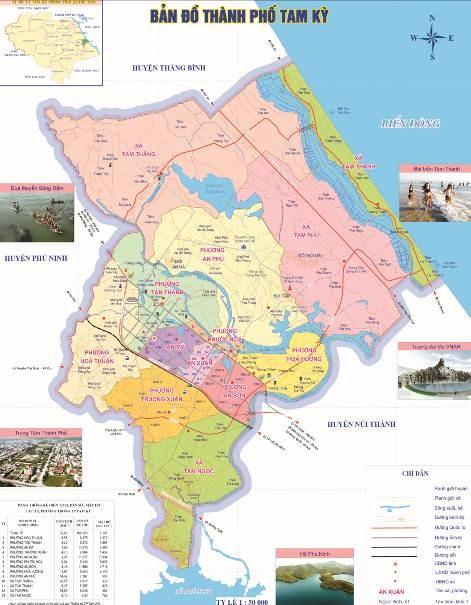Thành phố Tam Kỳ là thành phố tỉnh lỵ của tỉnh Quảng Nam