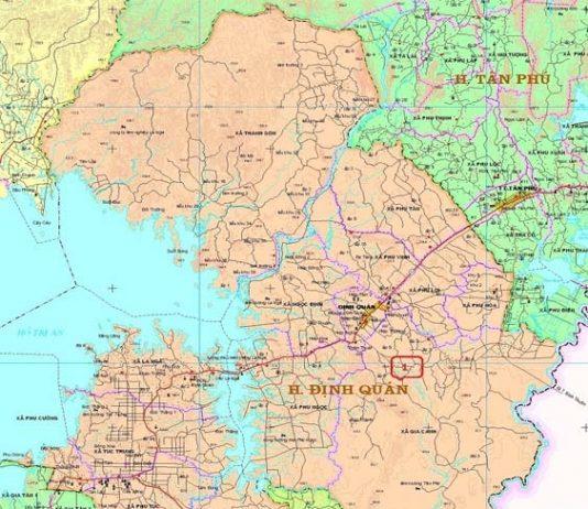 Giới thiệu khái quát huyện Định Quán