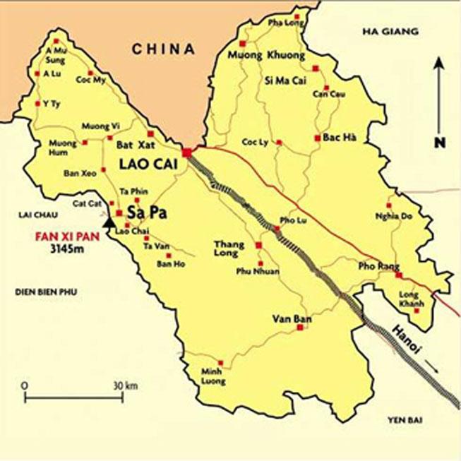 Giới thiệu khái quát thành phố Lào Cai