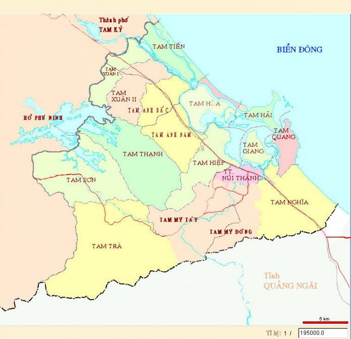 huyện Núi Thành - Tỉnh Quảng Nam