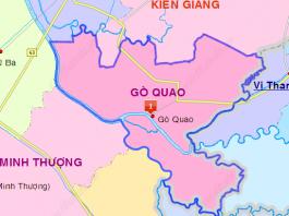 Giới thiệu khái quát huyện Gò Quao