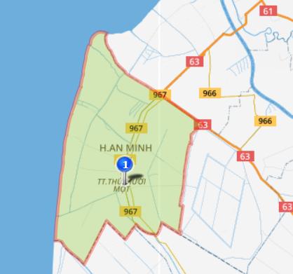Giới thiệu khái quát huyện An Minh - Tỉnh Kiên Giang - vansudia.net