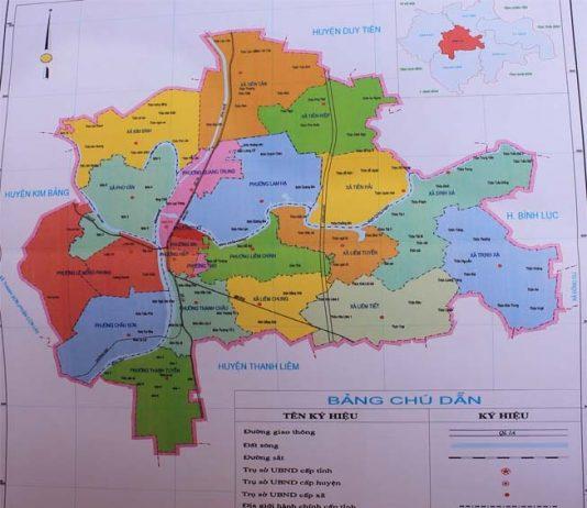 Giới thiệu khái quát thành phố Phủ Lý