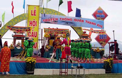 Lễ hội Cầu Ngư ở dinh Vạn Thủy Tú
